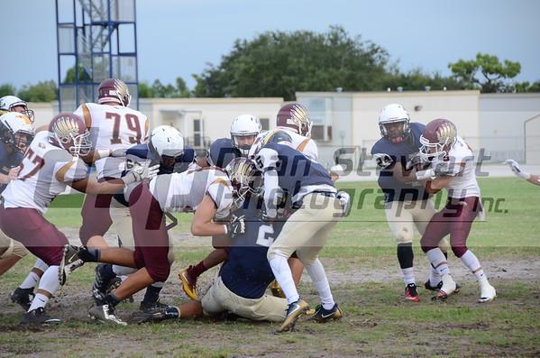 Astronaut V. Football @ E.G.H.S 9-2-16