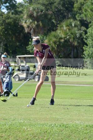 Girls Golf 9.12.18
