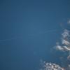Reid Wiseman @astro_reid  Nov 2 A lone a jetliner streaks across the #Med