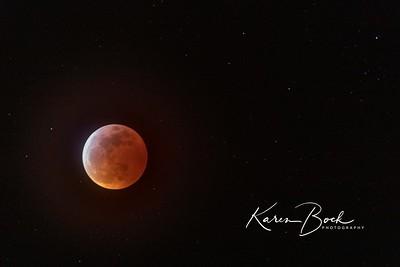 Super Wolf Blood Moon
