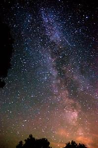 Milchstraße Sternbild Adler