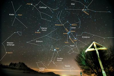 Orion-Gebiet