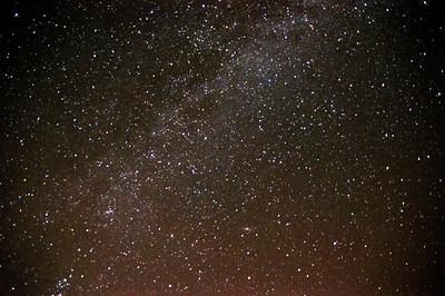 Milchstraße Sternbild Schwan