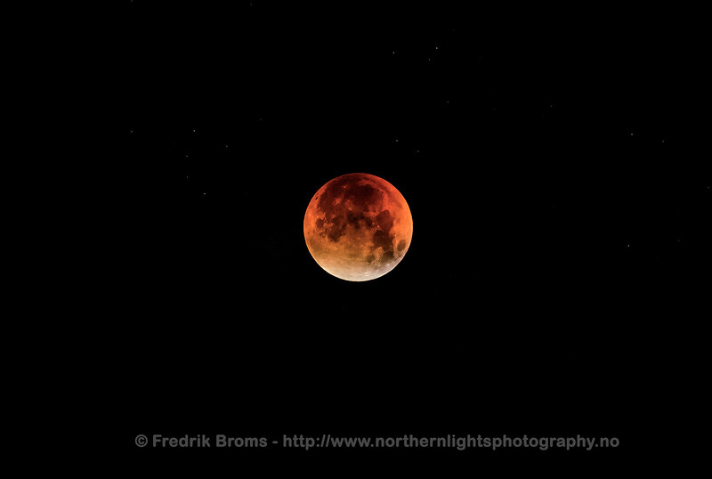 Total Lunar Eclipse of September 2015