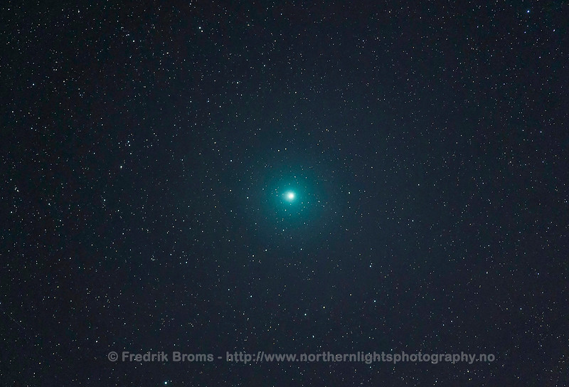 Comet 46P Wirtanen on 15 Dec 2018