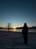 Watching The Last Sunset Before Polar Darkness, Northern Norway