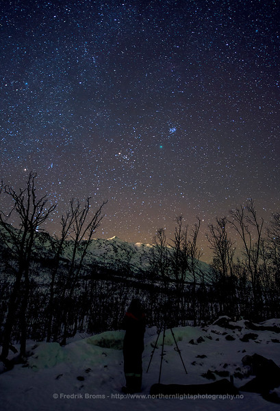 Watching Comet 46P Wirtanen, Northern Norway