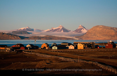 The Village of Ny-Ålesund, Svalbard