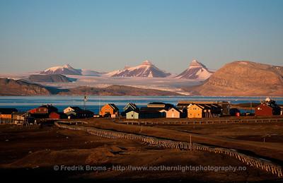 The Village of Ny-Ålesund, Svalbard