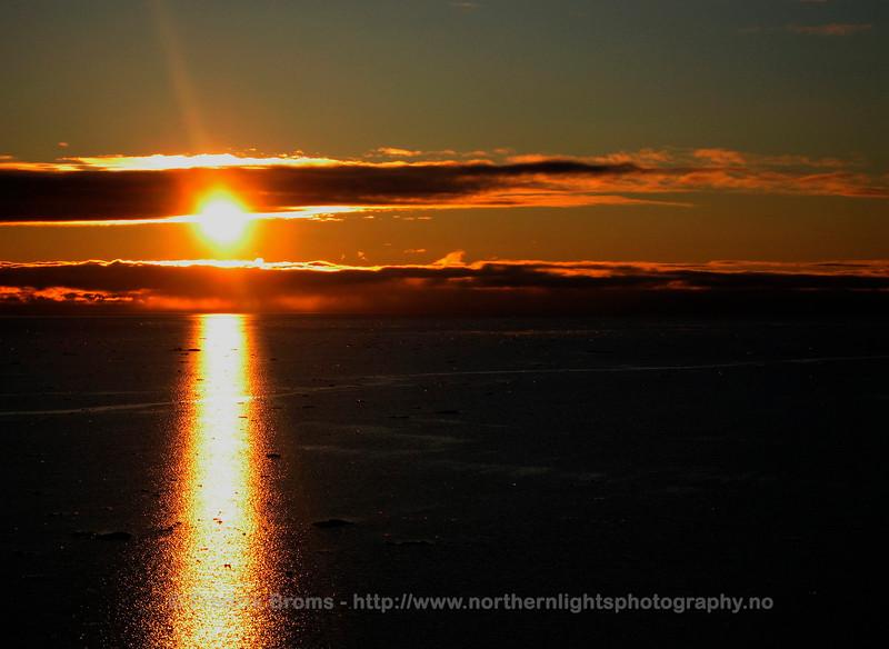 Midnight Sun, Svalbard
