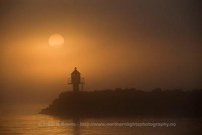 Light-house at Dawn