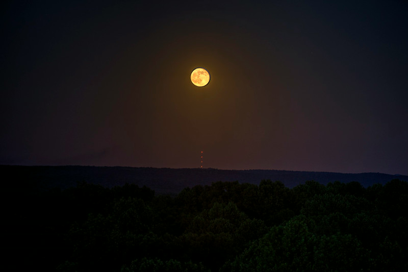 Moonrise over Indiana