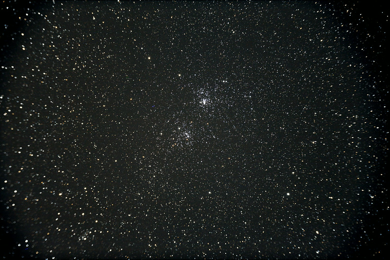 Perseus's double cluster