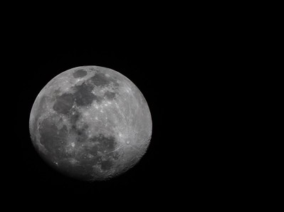 90 Percent full moon 3/18/2019