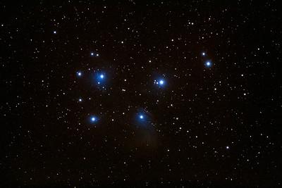 M45 - The Pleiades.
