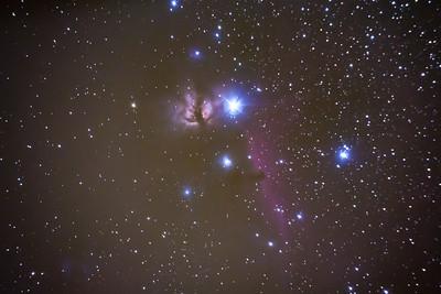 The Horsehead & Flame Nebulas
