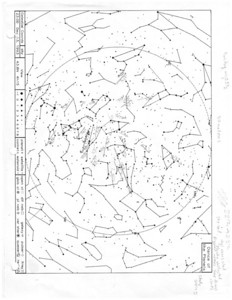 Geminid meteor shower, 13 December 1993