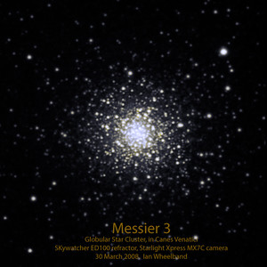 Messier 3, Globular star cluster