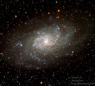Messier 33, the Triangulum galaxy