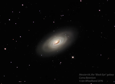 M064, the Black Eye galaxy