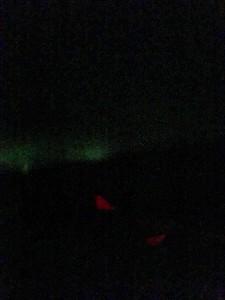 Aurora over the Davis Straight