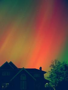Aurora Borealis from Ashburn (2 of 3)