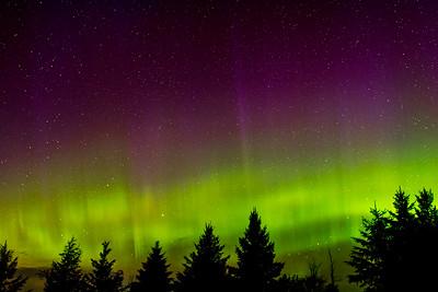 Aurora borealis, May 28, 2017 2