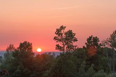 Sunset at the CAO, Thornbury, ON, Canada