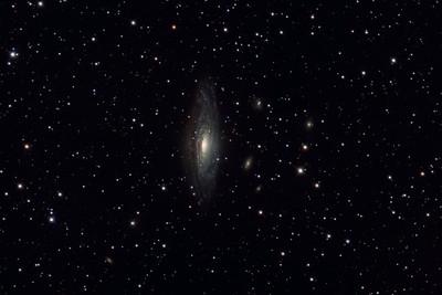 NGC7331 spiral galaxy in Pegasus.