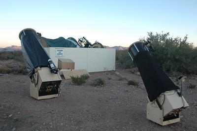 Ready for observing and imaging at Arizona Dark Sky Village, November 2009