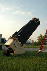 "My home built 20"" F5 telescope.  CAO, Thronbury, ON"