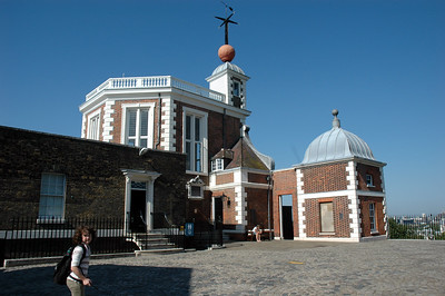 Time ball at Greenwich Observatory, England