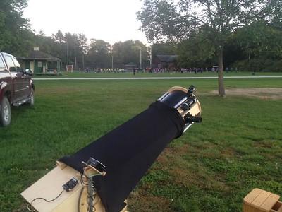Ready for the hoards of students... 25 September 2015.  YMCA Geneva Park, Orillia, ON.