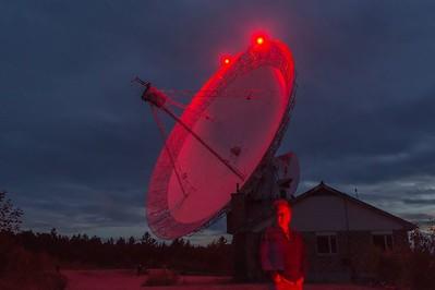 Algonquin Radio Telescope, August 2015.