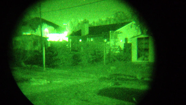 ITT GEN 3 Night Vision attached to iPhone 4s