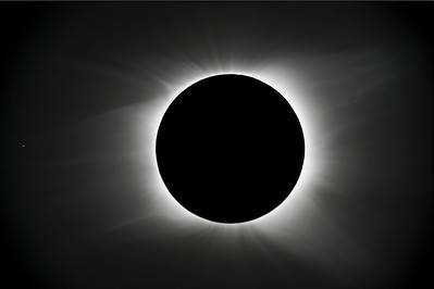 Preliminary composite created from several different exposures during totality.