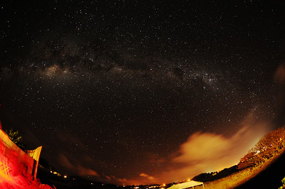 Southern Milky Way. Photo taken from the grounds of the Altiplanico Hotel, Easter Island.