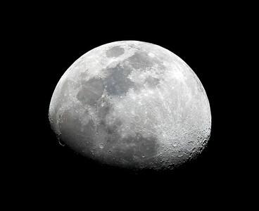 Waxing Gibbous Moon - 15/9/2013 (Processed single image)