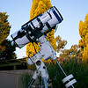 """8"""" Newtonian and guidescope - Looking up! - 12/10/2013"""