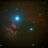 IC434 Horsehead Nebula near Star Alnitak - 9/1/2013 (Processed stack)