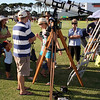 "Astrofest 2013 at Curtin University - 4"" Unitron Refractor - 16/2/2013<br /> <br /> Back in the mid 1970's the Unitron 4"" f/15 Achromatic Refractor with Equatorial mount was the telescope of dreams for many amateur astronomers. Andrew Lockwood brought one of two that he owns out for public observing use. Over 30 years on it remains an impressive instrument!"