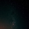 Milky Way from Centaurus through Crux to Carina - 1/6/2013 (Processed stack)