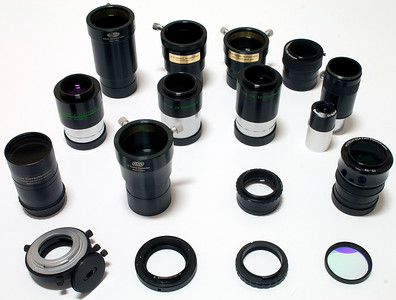 DSLR Telescope attachment options - 25/10/2013 (Processed image)