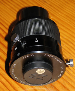 William Optics AFR IV 0.75-0.8x Adjustable Focal Reducer - 17/9/2013