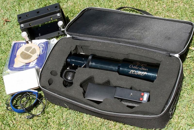 Farewell Apogee OrthoStar LOMO 80mm f/6 APO Refractor - 8/2/2014