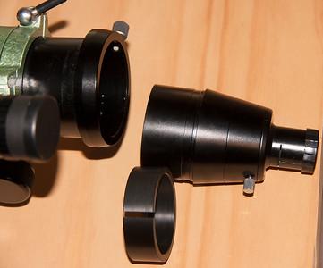 """Perth Observtory's Pentax 75-SDHF Custom 2"""" Focuser Adapter - 28/10/2014"""