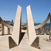 Cottesloe Sundial - 1/1/2014 (Processed image)