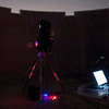 """Imaging setup with 8"""" PowerNewt at Perth Observatory (Ambient Light) - 28/2/2014 (Processed image)"""
