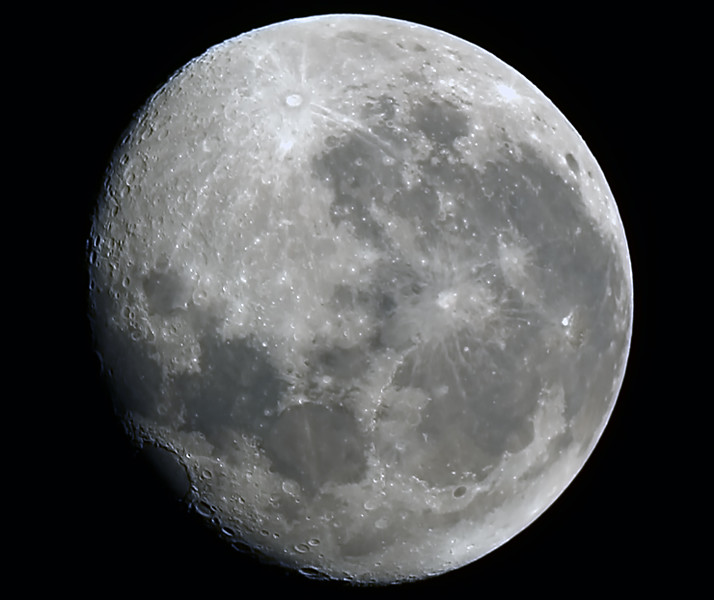 Gibbous Moon - 6/2/2015 (Processed cropped stack)