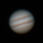 Jupiter near Opposition -= 14/2/2015 (Processed cropped stack)